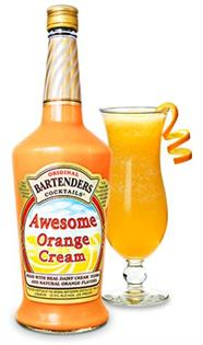 Original Bartenders Cocktails Awesome Orange Cream 750ml -...